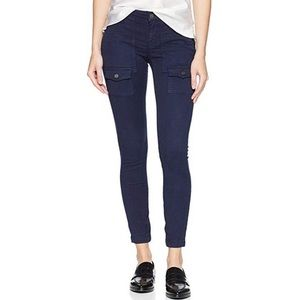 Joie So Real Skinny Ankle Zip Cargo Pocket Pants